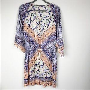 NWT Twelfth Street by Cynthia Vincent kimono dress